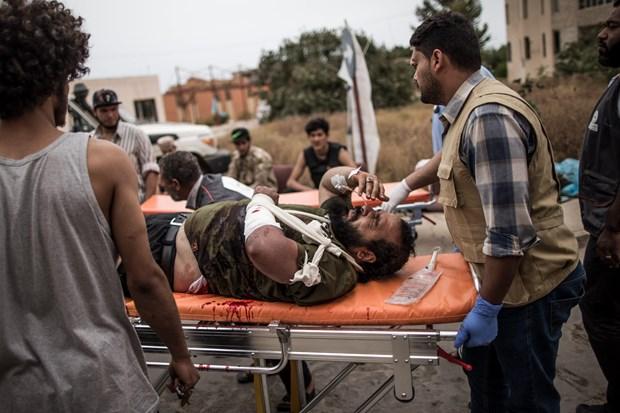 Libya: Dung do bung no o phia Nam thu do Tripoli hinh anh 1