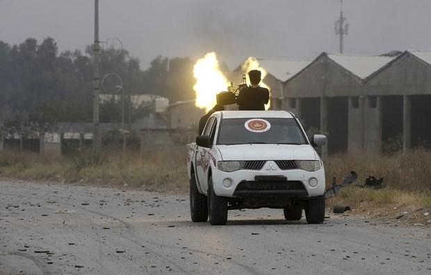 Libya: Tuong Khalifa Haftar tu choi de xuat ngung ban cua Phap hinh anh 1