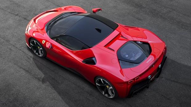 "Ferrari ra mat ""sieu quai vat"" su dung cong nghe hybrid SF90 Stradale hinh anh 1"
