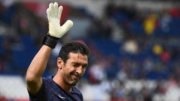 Gianluigi Buffon noi loi chia tay voi Paris Saint-Germain hinh anh 1