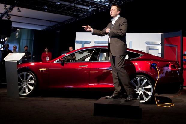 Goldman Sachs giam muc du bao ve gia co phieu cua Tesla hinh anh 1