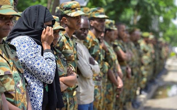 Luc luong an ninh Ethiopia bat giu hang tram doi tuong sau dao chinh hinh anh 1