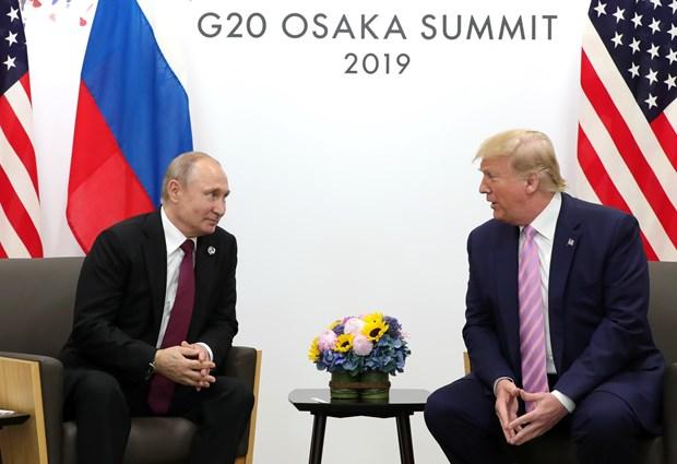 Tong thong Putin va Tong thong Trump hoi dam toi 1 gio 20 phut hinh anh 1