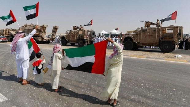 UAE giam hien dien quan su tai Yemen do cang thang My-Iran hinh anh 1