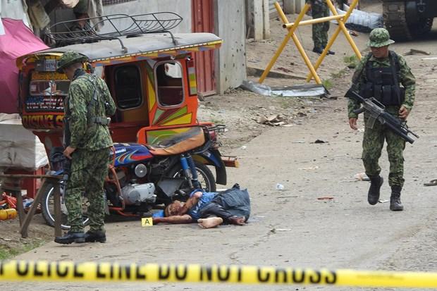 Philippines nghi thu pham vu danh bom lieu chet la nguoi dia phuong hinh anh 1
