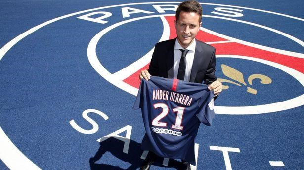 Ander Herrera chinh thuc gia nhap Paris Saint-Germain hinh anh 1