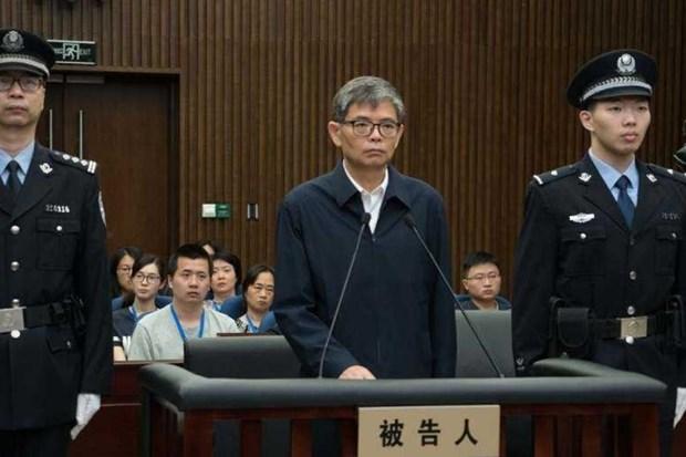 Cuu Tong giam doc Tap doan Cong nghiep Dong tau Trung Quoc bi phat tu hinh anh 1
