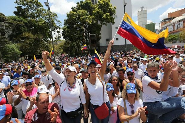 Venezuela keu goi LHQ can thiep truoc bien phap trung phat cua My hinh anh 1