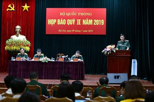 Bo Quoc phong to chuc hop bao quy 2/2019 ve cac noi dung quan trong hinh anh 1