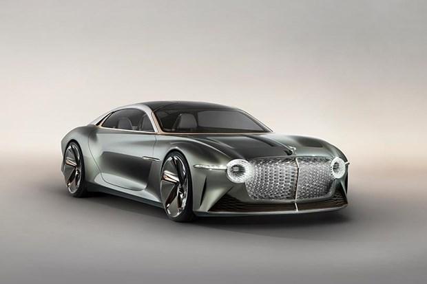 Bentley ra mat mau concept xe dien sieu sang EXP 100 GT hinh anh 2