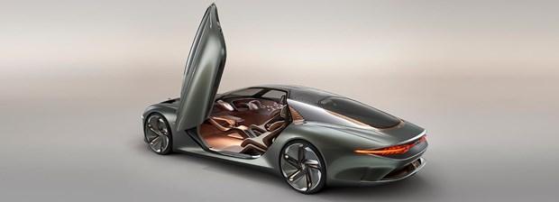 Bentley ra mat mau concept xe dien sieu sang EXP 100 GT hinh anh 1