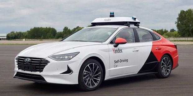 Hyundai, Yandex chuan bi thu nghiem xe taxi tu lai tai Nga hinh anh 1