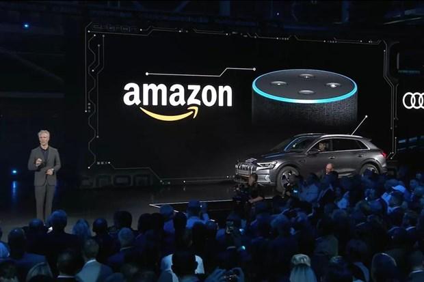 Amazon mo rong hoat dong trong mang cong nghiep xe hoi hinh anh 1