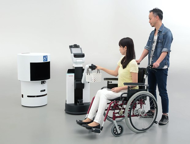 Nhat Ban su dung nhieu loai robot phuc vu cho Olympic Tokyo 2020 hinh anh 2