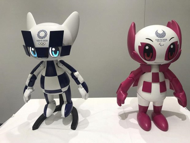 Nhat Ban su dung nhieu loai robot phuc vu cho Olympic Tokyo 2020 hinh anh 1