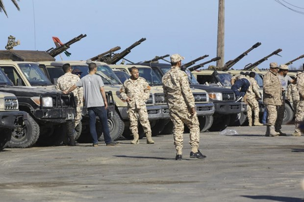 Libya: Luc luong an ninh bat giu nhieu thu linh al-Qaeda hinh anh 1