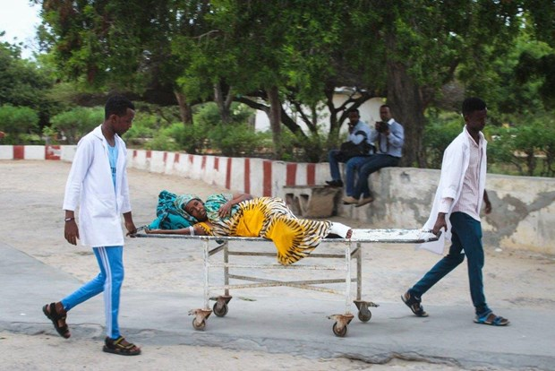 Somalia: Nhieu nguoi thuong vong trong vu danh bom o Mogadishu hinh anh 1