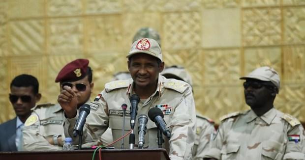 Sudan bat giu mot so sy quan cap cao dinh liu den am muu dao chinh hinh anh 1