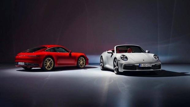 Porsche trinh lang mau xe 911 Carrera moi voi gia chi tu 100.000 USD hinh anh 1