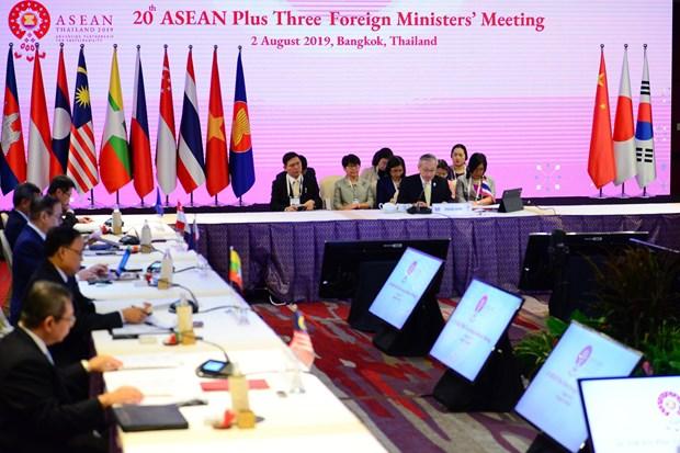 Khai mac Hoi nghi Bo truong Ngoai giao ASEAN+3 lan thu 20 hinh anh 1