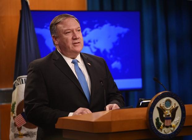 Ngoại trưởng Mỹ Mike Pompeo. Ảnh: AFP/TTXVN