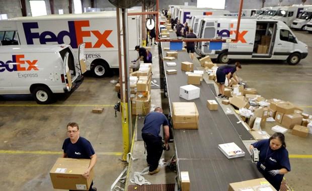 My: Cong ty chuyen phat FedEx cat quan he voi Amazon hinh anh 1