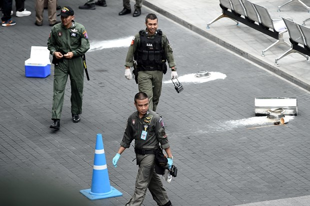 Thai Lan dat nghi van ve dong co chinh tri trong cac vu danh bom hinh anh 1