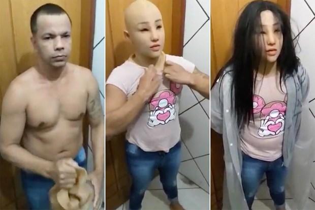 Trum bang dang Brazil vuot nguc bang cach cai trang thanh con gai hinh anh 1