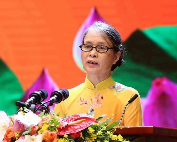 Le ky niem Quoc gia 50 nam thuc hien Di chuc cua Chu tich Ho Chi Minh hinh anh 4