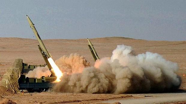 Israel cao buoc Iran xay dung nha may san xuat ten lua tai Liban hinh anh 1