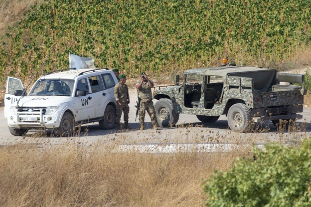 Hezbollah tiep tuc leo thang cang thang voi quan doi Israel hinh anh 1