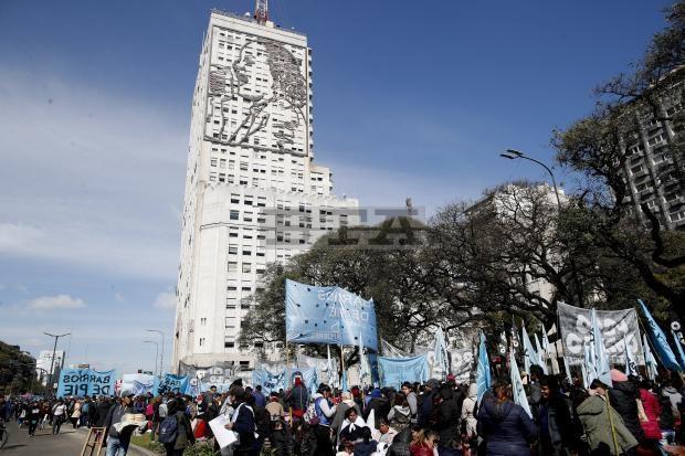 Argentina: Bieu tinh lon yeu cau chinh phu ho tro nguoi ngheo hinh anh 1