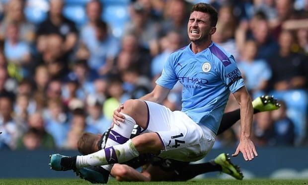 Manchester City mat Laporte den het nam do chan thuong hinh anh 1