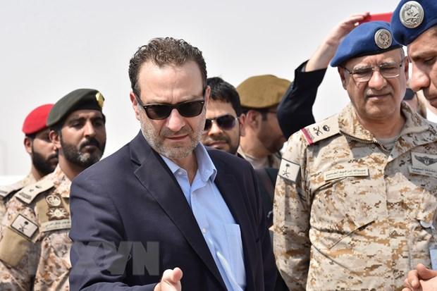 My lan dau tiep xuc voi dai dien nhom phien quan Houthi sau 4 nam hinh anh 1