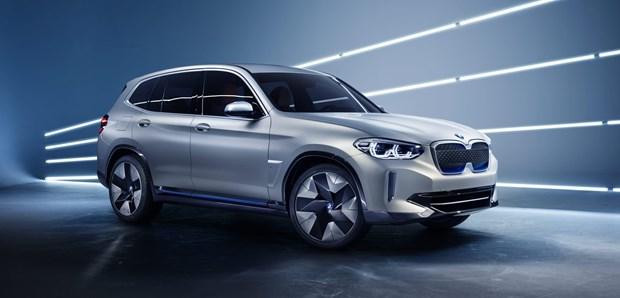 BMW du dinh san xuat mau xe dien iX3 tai Trung Quoc vao mua Thu 2020 hinh anh 1