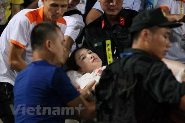 TP Ha Noi yeu cau dam bao an ninh cho cac tran dau tren san Hang Day hinh anh 1