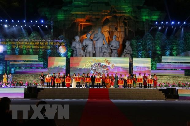 Tuyen Quang khai mac Le hoi Di san phi vat the quoc gia nam 2019 hinh anh 3