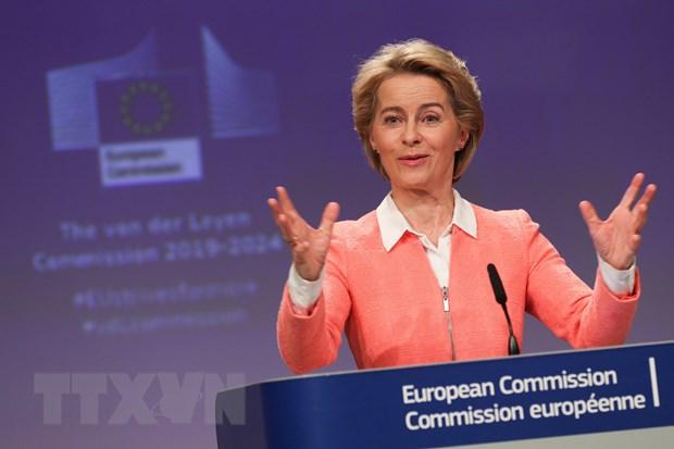Duc muon ngan sach EU han che o muc 1% GDP cua khoi hinh anh 1