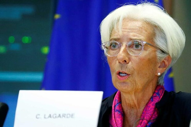 Cuu Tong Giam doc IMF duoc phe chuan lam Chu tich ECB hinh anh 1
