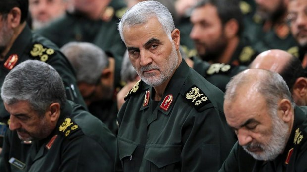 Iran cao buoc mat vu Israel dung sau am muu am sat chi huy IRGC hinh anh 1