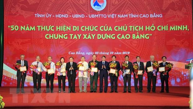 Pho Thu tuong du Le ky niem 520 nam thanh lap tinh Cao Bang hinh anh 1