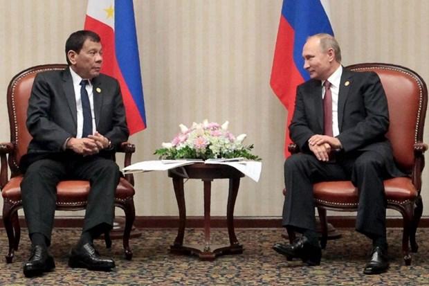 Tong thong Putin tiep Tong thong Duterte, mo rong hop tac song phuong hinh anh 1