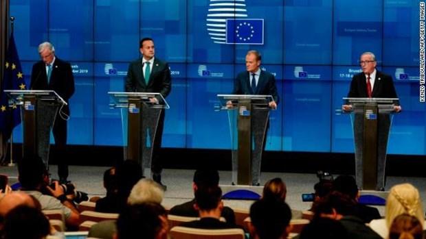 Hoi nghi thuong dinh EU thong qua thoa thuan ve Brexit hinh anh 1