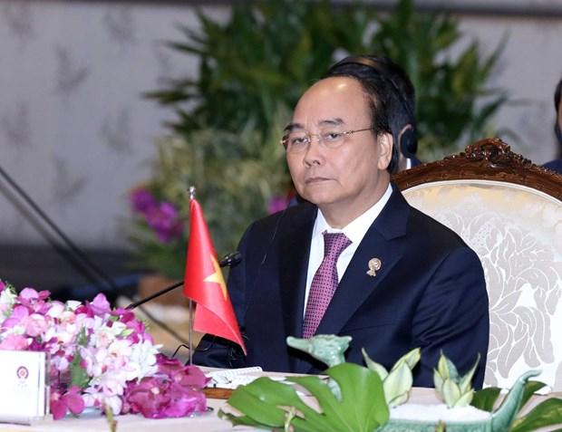 Thu tuong Nguyen Xuan Phuc du Phien toan the Hoi nghi Cap cao ASEAN 35 hinh anh 1