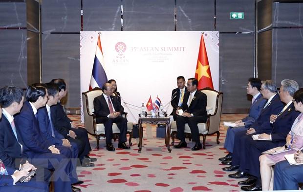 Thu tuong Nguyen Xuan Phuc du Phien toan the Hoi nghi Cap cao ASEAN 35 hinh anh 2