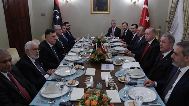 Tho Nhi Ky, Libya ky thoa thuan ve hop tac an ninh, quan su hinh anh 1