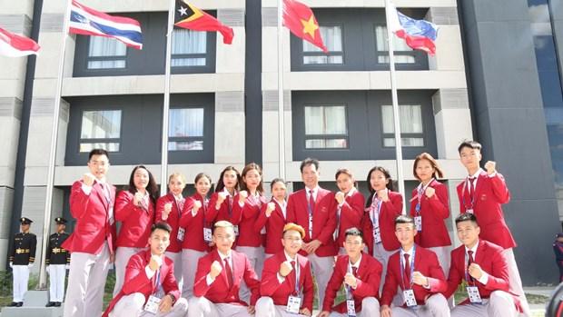 Doan Viet Nam dat muc tieu gianh 65 huy chuong Vang SEA Games hinh anh 2