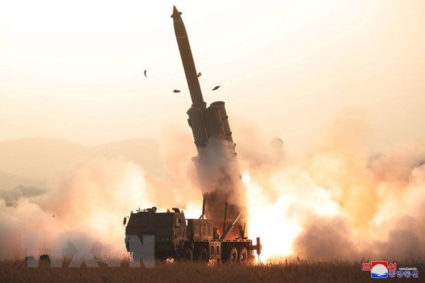Triều Tiên thông báo thử bệ phóng tên lửa đa nòng siêu lớn