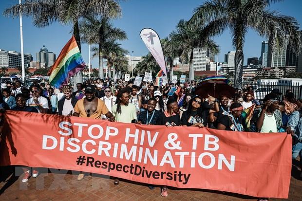 Nam Phi dat duoc nhieu tien bo trong phong chong HIV/AIDS hinh anh 1