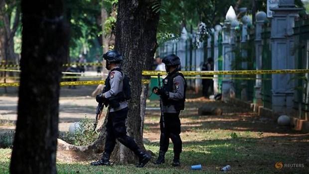 Indonesia: No gan Dinh Tong thong, 2 binh sy bi thuong hinh anh 1
